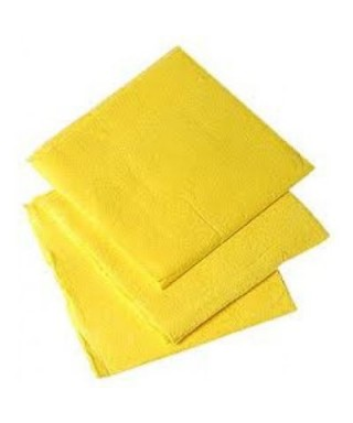 Paños absorbentes Amarillo Shiny 1 Pieza