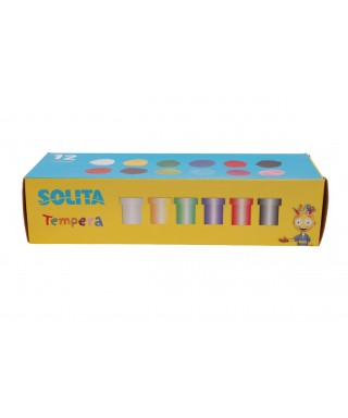 Tempera SOLITA x 6 colores