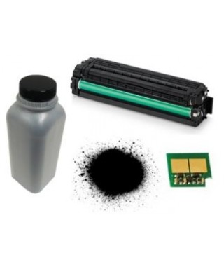 Recarga de Toner Samsung 105. 80 gramos de toner + chip