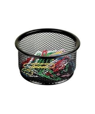Clips de colores JUMBO 50 mm + Porta clips de malla metálica.
