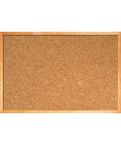 Cartelera de Corcho. medidas 60 x 90 cm