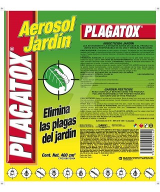Insecticida aerosol Jardin PLAGATOX 400cc