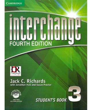 Libro INTERCHANGE 3 - 4ta EDICION ( BLANCO Y NEGRO)