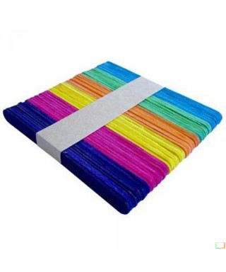 Paletas de Helado de colores x 50 un