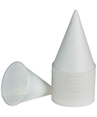 Vasos cónicos plásticos Selva paq x 150