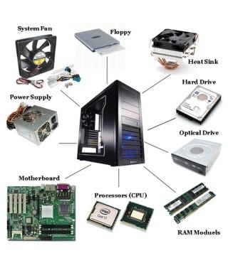 Instalación depiezas de hardware