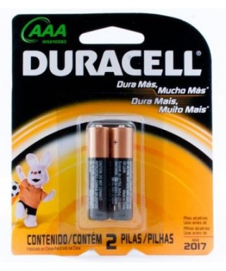 Pilas Duracell AAA x 2