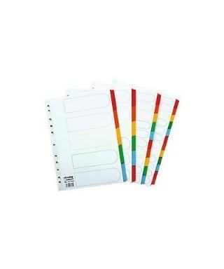 Separadores Plasticos de colores PRINTA Juego x 10 Und