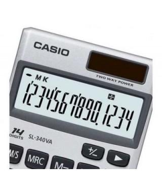 Calculadora Casio SL 340 VA Calculadora de escritorio.