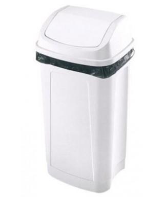 Papelera con tapa para baños 11 Lts
