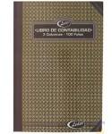 Libro de Contabilidad, 2 columnas, 100 Folios. Marca Líder