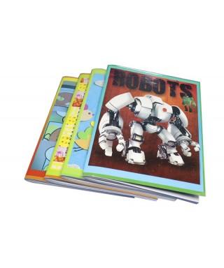 Cuaderno engrapado doble linea100H ALPES