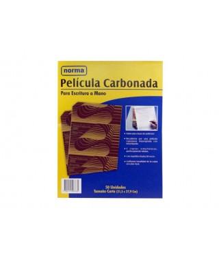 Papel Carbon Azul Kores T/Carta
