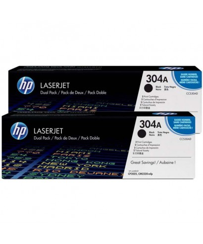 TONER HP ORIGINAL 304A COLOR NEGRO