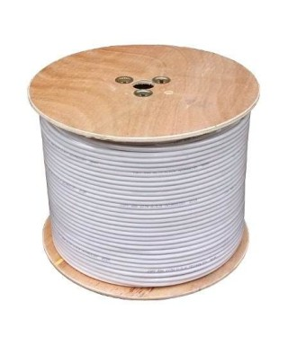 CABLE COAXIAL RG6 BLANCO...
