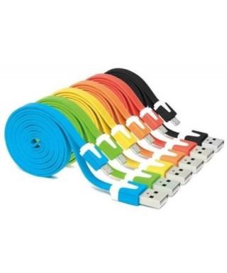Cable de datos 1MT Colores variados