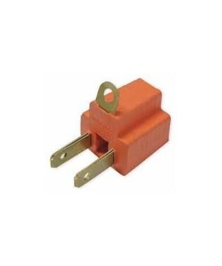 Adaptador electrico 3 a 2 Vias