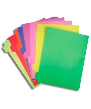 Separadores de Colores, 8 divisiones