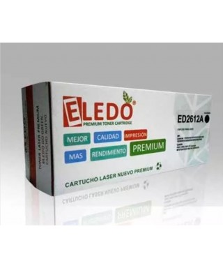 Toner ELEDO Compatible Hp Q2612a (12a) Yellow
