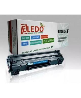 Toner ELEDO Compatible Hp Q2612a (12a) Para 1010 1012 1018 1020