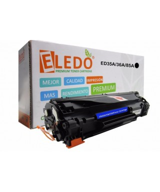 Toner Genérico Eledo Hp Ce285a 85a P1102 P1102w M1132 M1212