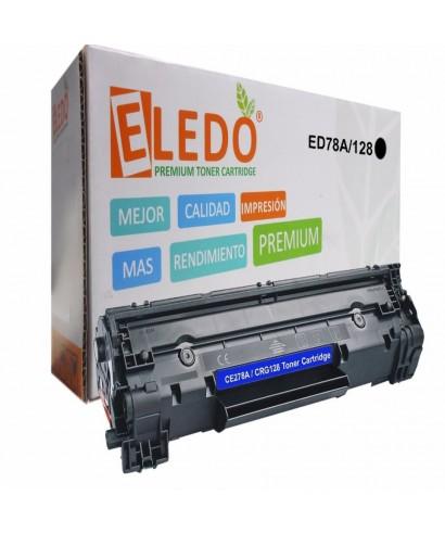 Toner Genérico Eledo Para Hp Ce278a 78a / P1566 P1606 M1536