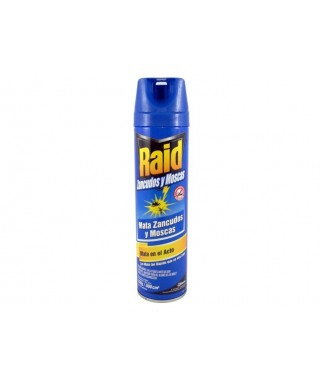 Insecticida RAID Voladores 360 CM3