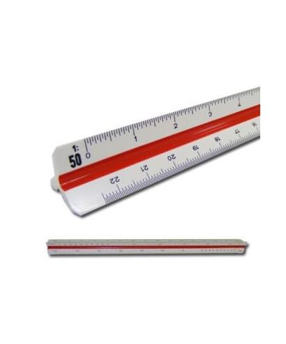 Escalimetro plástico 30 cms