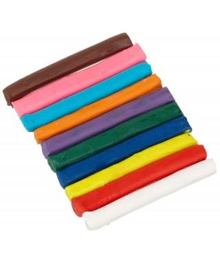 Plastilina de 10 colores SYSABE