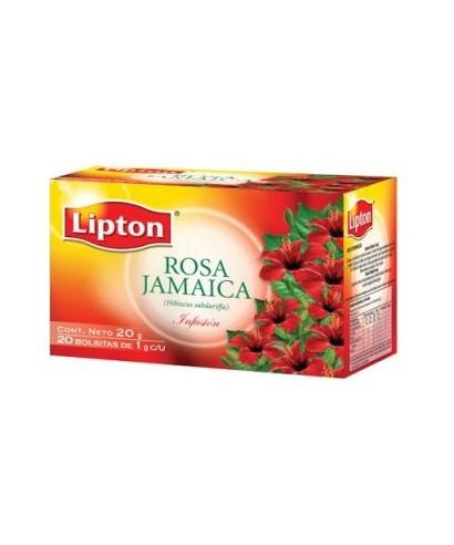 Te Lipon Rosa Jamaica Caja x 20 Sobrecitos