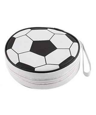 Porta CD case FUTBOL de 10 bolsillos pack de 3