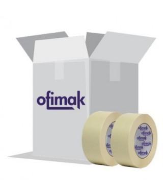 Tirro 1 OFIMAK 55mtrs x 25 YD MASKING TAPE pack de 3