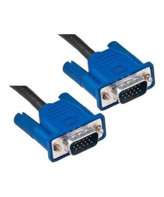 Cable de video VGA, para monitores. 1 Metro