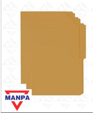 Carpeta manila Tamaño Oficio x100 CARIBE