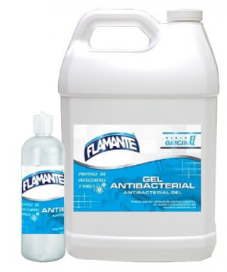 GEL ANTIBACTERIAL FLAMANTE...