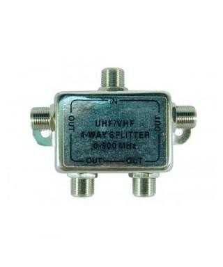 SPLITTER 4 VIAS CONSUMER ELECTRONIC