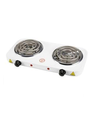 Cocina eléctrica de 2 hornillas marca SACO