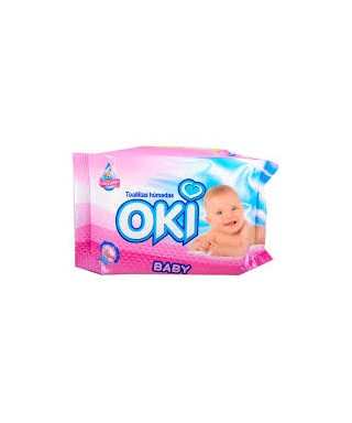 TOALLAS HUMEDAS OKI BABY LATION PQ 24 UND