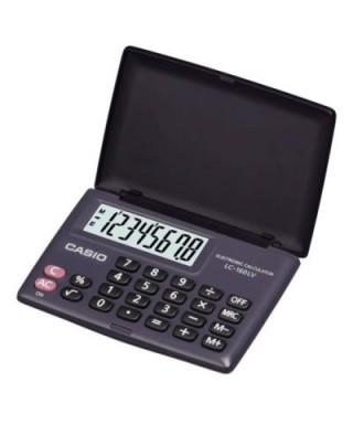 Calculadora Casio de Bolsillo con Tapa, LC 160LVB