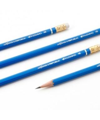 Lápiz de grafito No. 2 Azul Dragon Caja de 12 unidades