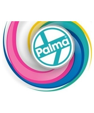 Rastrillo plástico Palma Grande, Incluye Palo de madera