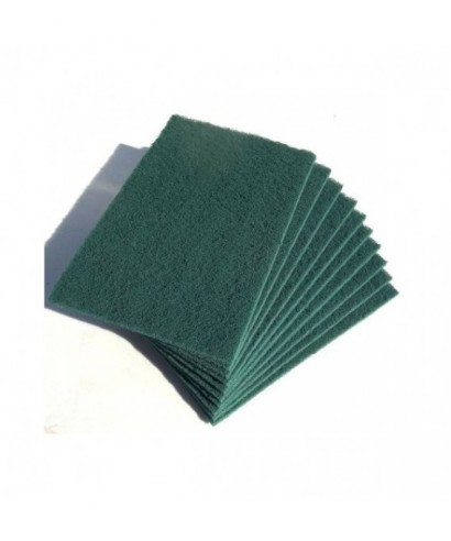 Esponja verde abrasiva