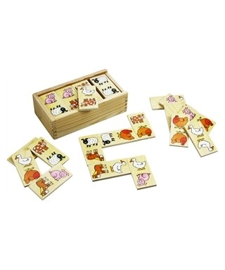Juego didactico de dominoes (Animalitos)