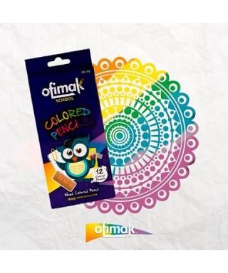 Lapices de colores OFIMAK 12 unds
