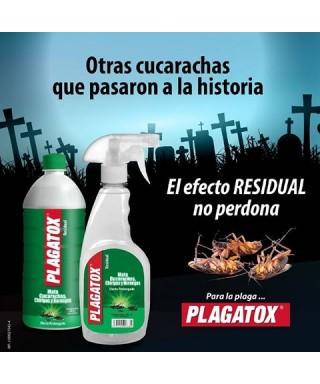 Insecticida Liquido Plagatox 500cc Rastrero. (repuesto)