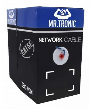 Bobina Cable Utp Cat5e 305mts Mr Tronic Redes Cctv Lan