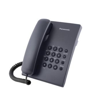 Telefono alambrico PANASONIC KTX 500 Negros Mesa o pared