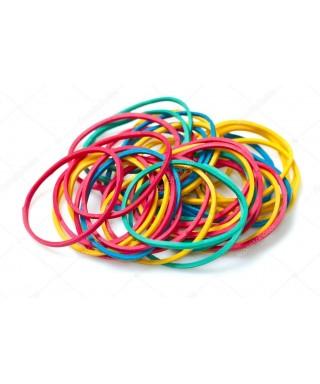 Bandas elásticas de color numero 18° 250 Gr PRINTA