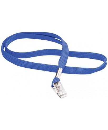 Cinta porta carnets Azul 51 mm