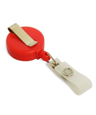 Dispositivo porta carnets tipo YOYO COLOR rojo
